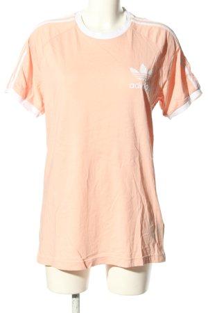 Adidas T-shirt nude casual uitstraling