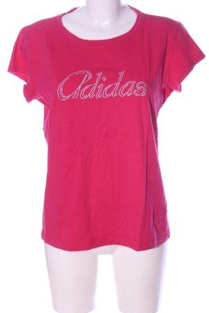 Adidas T-Shirt pink Casual-Look