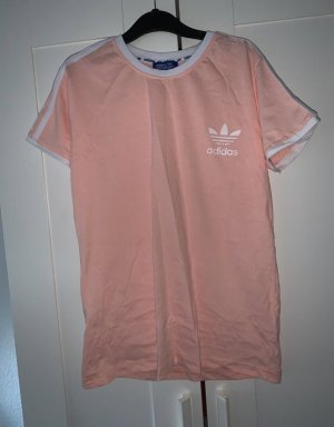 Adidas Originals T-shirt blanc-rose
