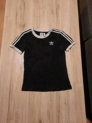 Adidas T-Shirt Damen schwarz