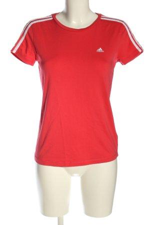 Adidas T-Shirt rot Casual-Look