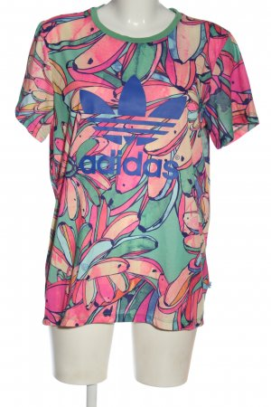 Adidas T-Shirt Allover-Druck Casual-Look