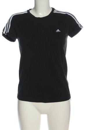 Adidas T-shirt nero stile casual