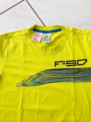 Adidas Polo giallo Cotone