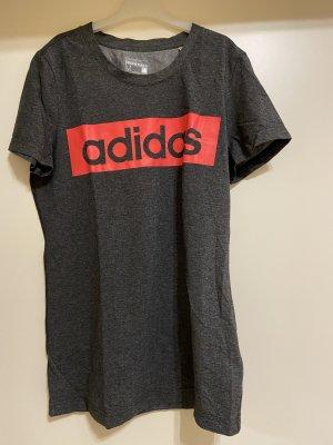 Adidas T-shirt gris anthracite