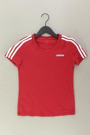 Adidas T-Shirt Größe XS Kurzarm rot