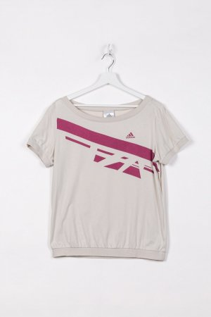 Adidas T-Shirt in Beige L