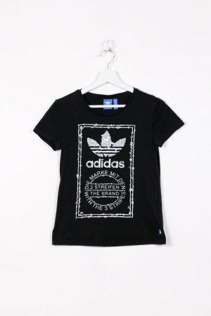 Adidas T-Shirt in Schwarz XS