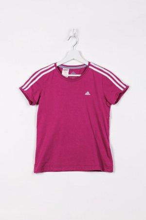 Adidas Koszulka sportowa fioletowy Bawełna
