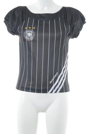 Adidas T-shirt lettrage brodé style athlétique
