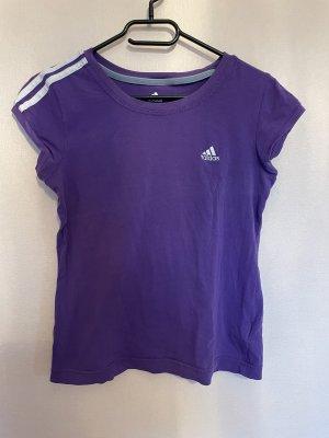 Adidas Sports Shirt lilac-dark violet