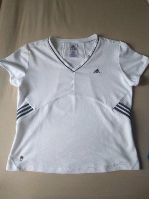 Adidas Maglietta sport bianco-nero
