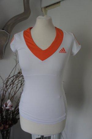 Adidas Top schiena coperta bianco