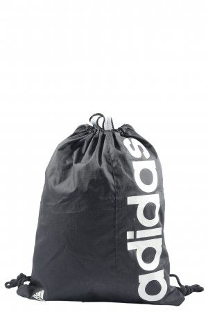 Adidas Tagesrucksack schwarz-weiß Schriftzug gedruckt Casual-Look