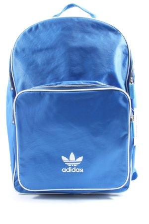 Adidas Tagesrucksack blau Casual-Look