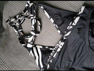 Adidas Tankini bianco-nero