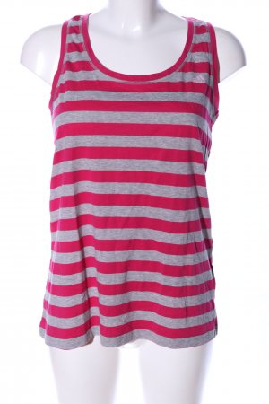 Adidas Tanktop hellgrau-pink meliert Casual-Look