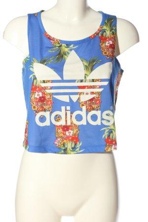 Adidas Tanktop Blumenmuster Casual-Look