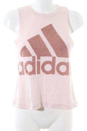 Adidas Tanktop pink-braun meliert Casual-Look