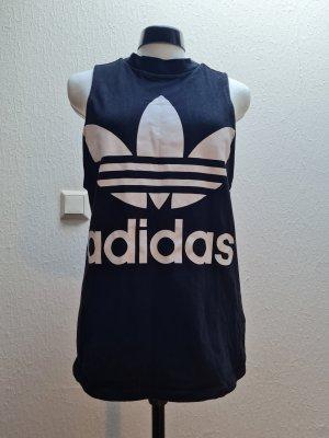 Adidas Tanktop wit-zwart