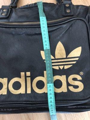 Adidas Originals Sac de sport noir-doré