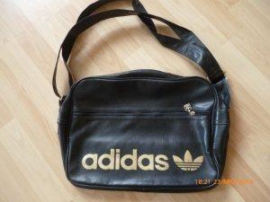 Adidas Originals Bolso estilo universitario negro-marrón arena