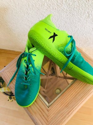Adidas Wysokie trampki petrol-zielona łąka