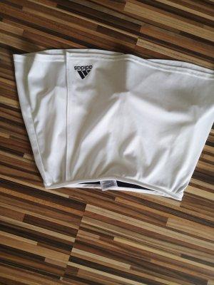 Adidas Szorty sportowe biały-czarny