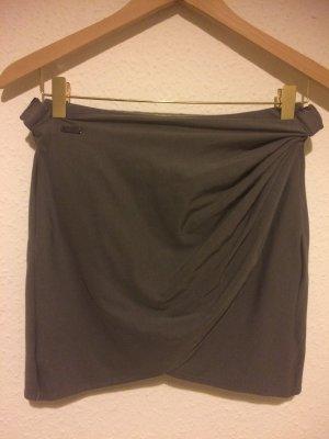 Adidas SLVR Wraparound Skirt grey lilac mixture fibre