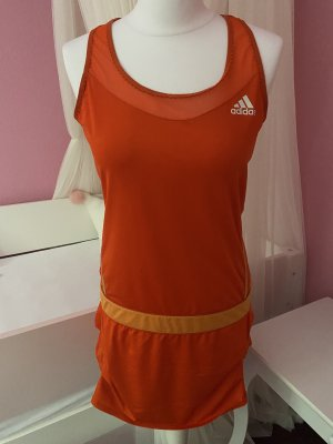 Adidas Abito scamiciato arancione
