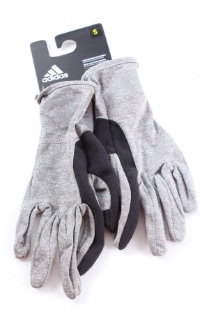 Adidas Thermal Gloves light grey-black flecked casual look