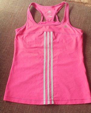 Adidas Canotta sportiva argento-rosa