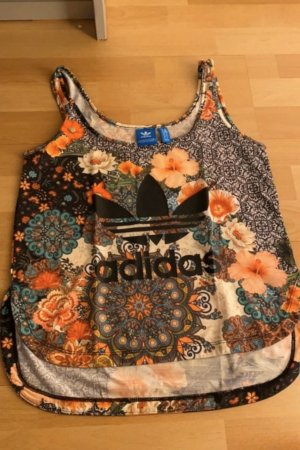 Adidas Top mit Muster