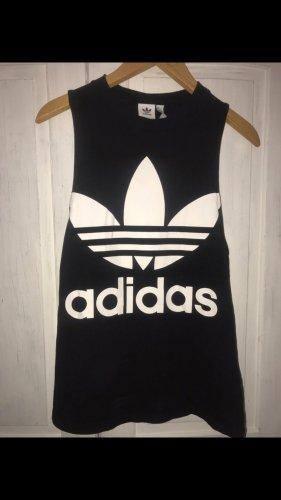 Adidas Top oversize schwarz weiß neu