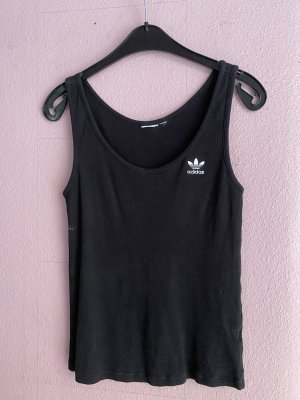 Adidas Basic topje zwart-wit
