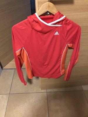 Adidas Maglietta sport rosso chiaro
