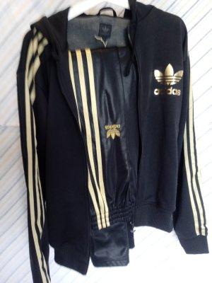 Adidas Damespak zwart-goud Polyester