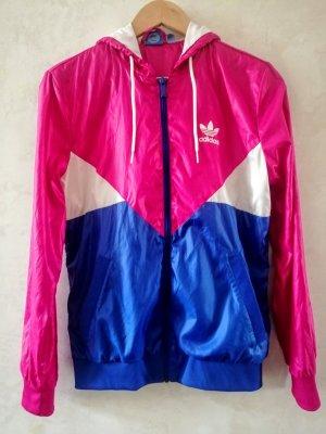 Adidas Giacca sport magenta-blu