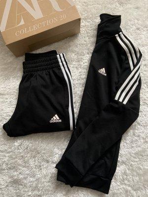 Adidas Gilet de sport blanc-noir