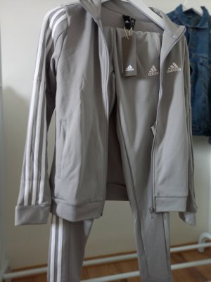Adidas Pantalón corto deportivo gris claro