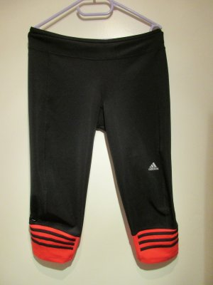 Adidas Trackies black-bright red polyester