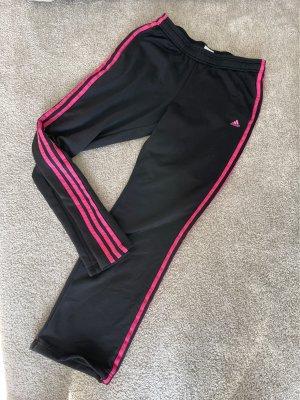 Adidas Joggingbroek zwart-roze