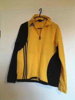 Adidas Sportjack zwart-geel