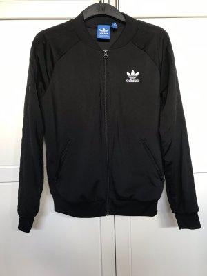 Adidas Veste de sport blanc-noir