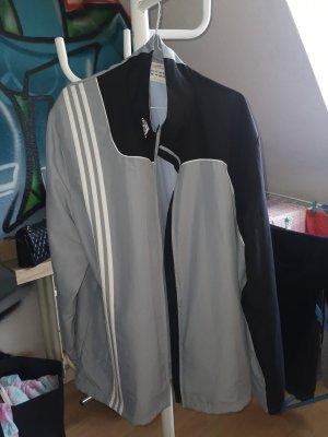 Adidas Kurtka oversize szary-jasnoniebieski