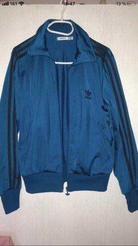 Adidas Veste de sport bleu pétrole-bleu