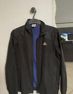 Adidas Veste d'extérieur noir-bleu