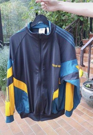 Adidas Chaqueta deportiva amarillo-azul