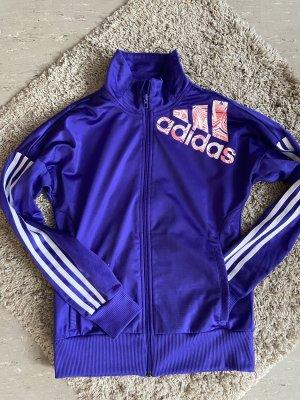 Adidas Veste chemise violet-blanc