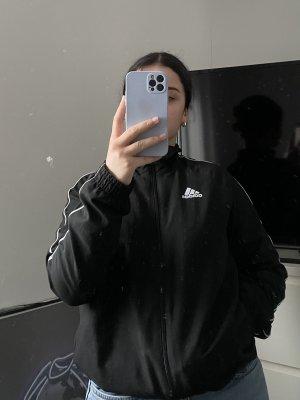 Adidas Giacca a vento nero-bianco